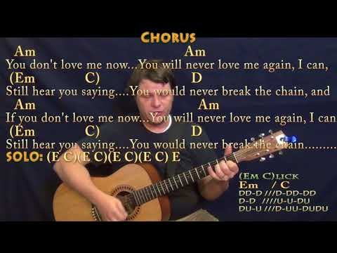 The Chain (Fleetwood Mac) Guitar Cover Lesson with Chords/Lyrics