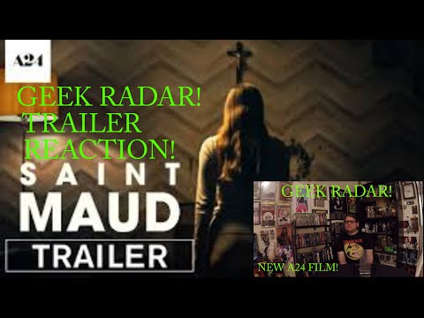 Saint Maud | Official Trailer HD | A24 REACTION!