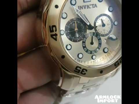 Relógioinvicta 24850 Pro Diver 18k