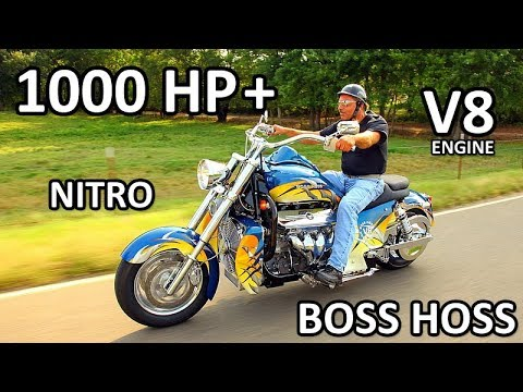 BOSS HOSS Amazing V8 Power Motorcycles