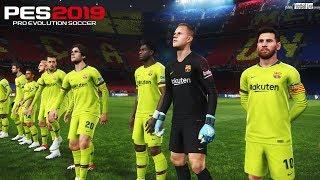Pro evolution soccer 2019 | fc barcelona vs inter full match & messi scores goal gameplay pc subscribe please)) http://www./c/footballlivegame...