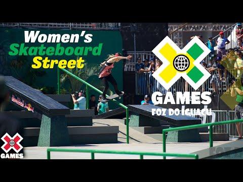X Games Foz do Iguaçu 2013 WOMEN'S SKATEBOARD STREET: X GAMES THROWBACK