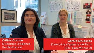 Les femmes de CDC Habitat : nos directrices d'agences