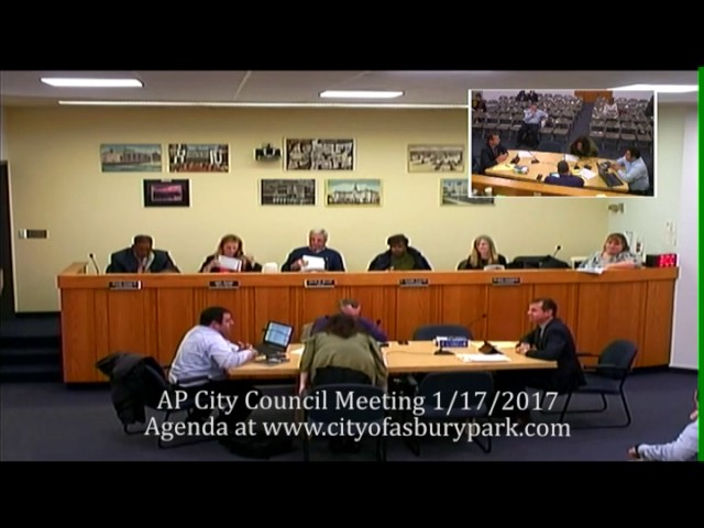 City Council Work Session and Regular Meeting, 1-11-17