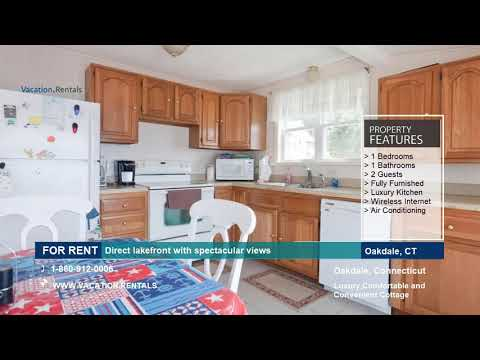 Connecticut | Vacation Rentals | Direct Lakefront with Sandy Beach | Oakdale