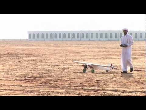 Abu Dhabi Falconry Competitions 2012 - Airplane Competitions