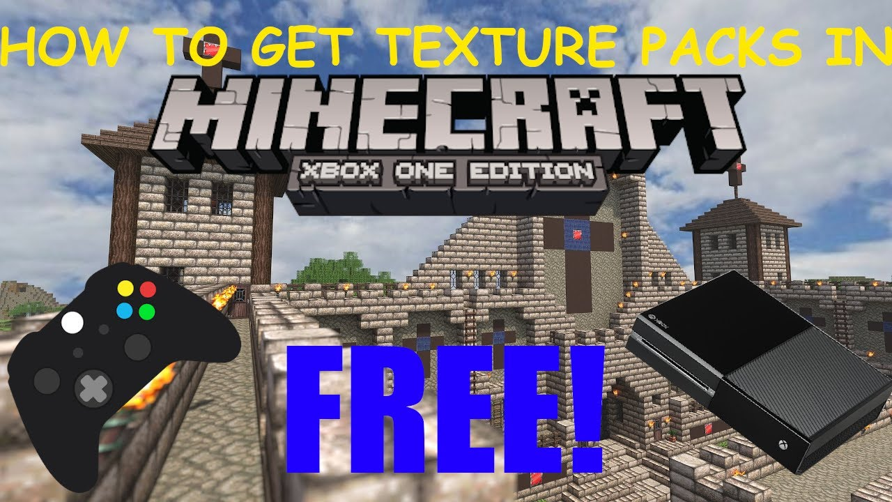How To Get TEXTURE PACKS For MINECRAFT XBOX ONE (✓Working 2020✓)