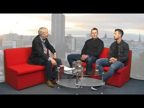 Sheffield Live TV Jake Wright & Jon Newsome 12.10.17 Part 1