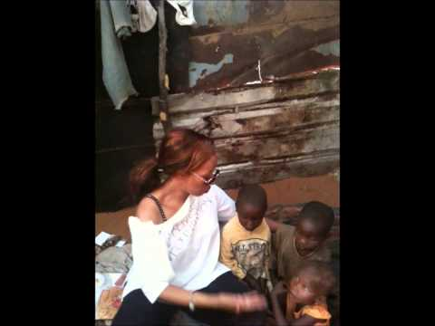 The Rentse Foundation finds Homeless orphans in Africa