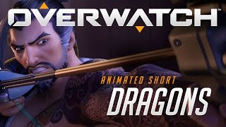 "Overwatch Animated Short | ""Dragons""(Discover the story behind one of Overwatch's biggest rivalries in our third animated short: Dragons! Then begin your watch May 24 on PC, PlayStation 4, or Xbox ..., 2016-05-16T16:55:22.000Z)"