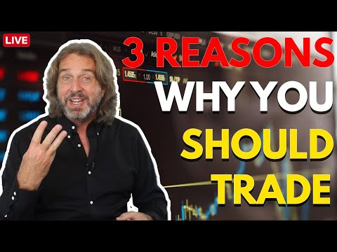 3 Reasons Why You Should Trade | Coffee With Markus Episode 82
