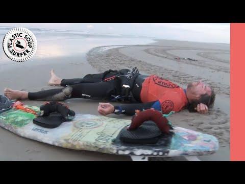 Full Docu Plastic Soup Surfer 1 - Van Belgie naar Duitsland op een board van Plastic Afval