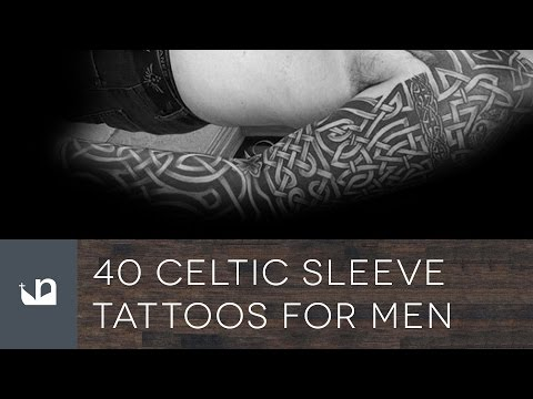 40 Celtic Sleeve Tattoos For Men