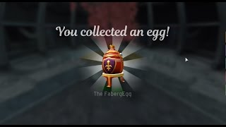 ROBLOX EGG HUNT 2017 - HOW TO GET FABERGE EGG! - 1ST TO COMPLETE