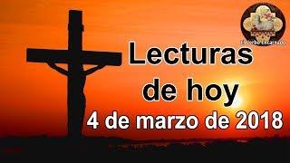 Lecturas del domingo 4 de marzo de 2018 - Tercer domingo de cuaresma - El Verbo Encarnado