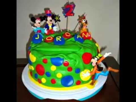 Creative Mickey Mouse Birthday Cake Design Decorating Ideas