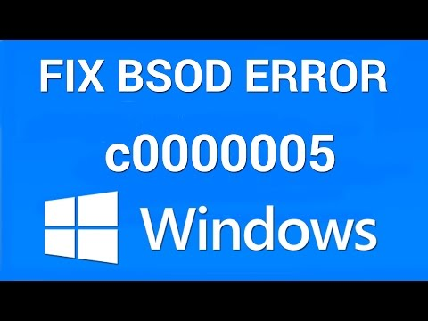 How to Fix Windows Error c0000005