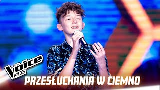 "Marcin Maciejczak - ""I'll Never Love Again"" - Przesłuchania w ciemno 