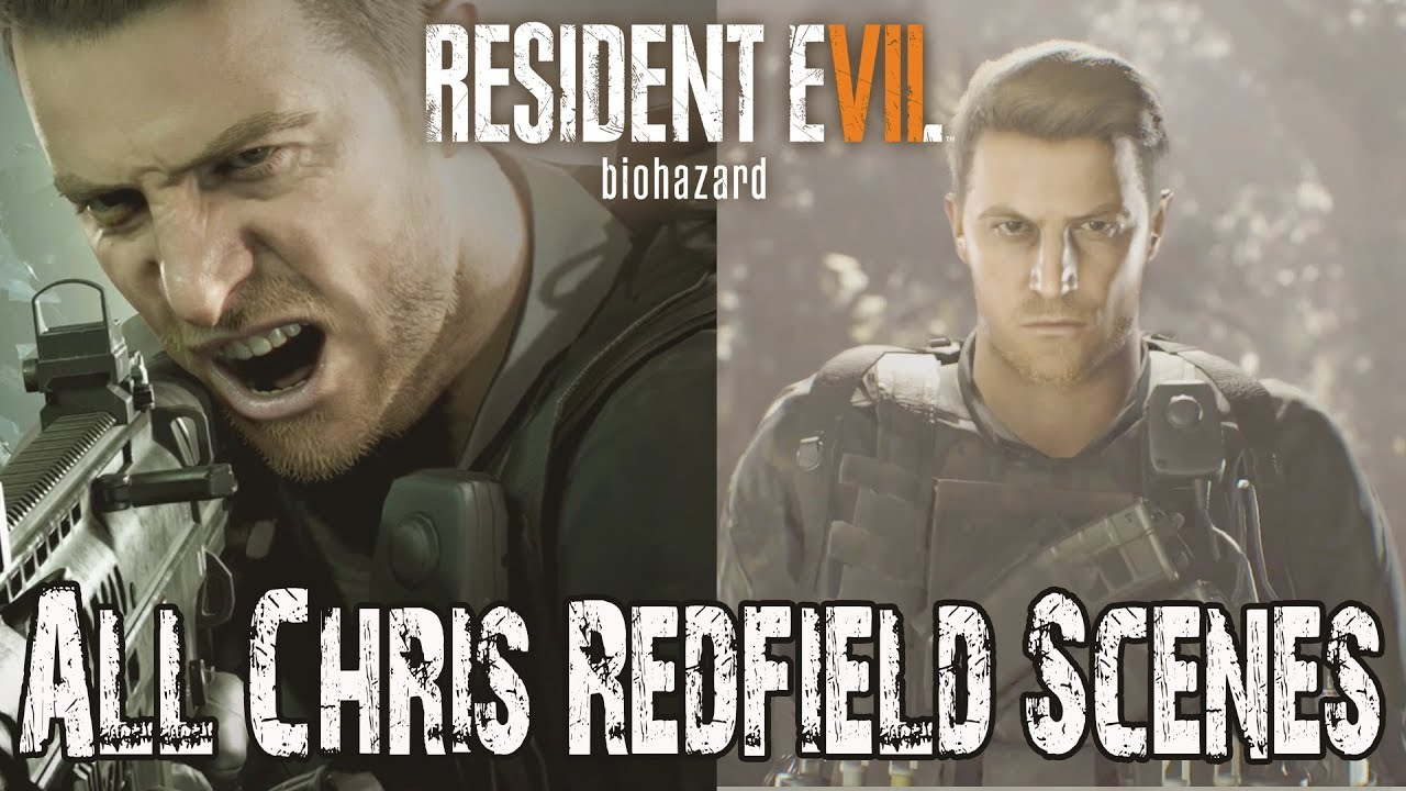 Resident Evil 7 Not A Hero End Of Zoe All Chris Redfield Scenes