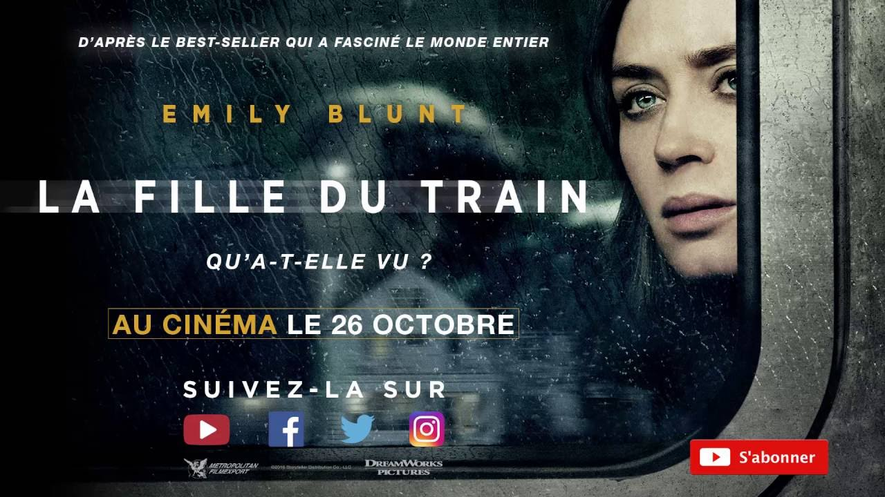 Critique La Fille Du Train Du Livre Au Film Jollies