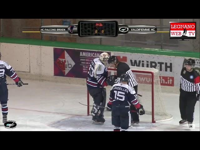 Valdifiemme HC vs HC Falcons Brixen