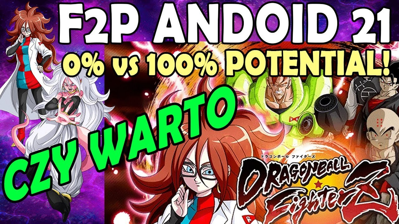 Android 21 Good Hidden Potential – Free Download Wallpaper