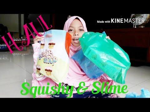 Haul Squishy Dan Slime    Mall Taman Anggrek