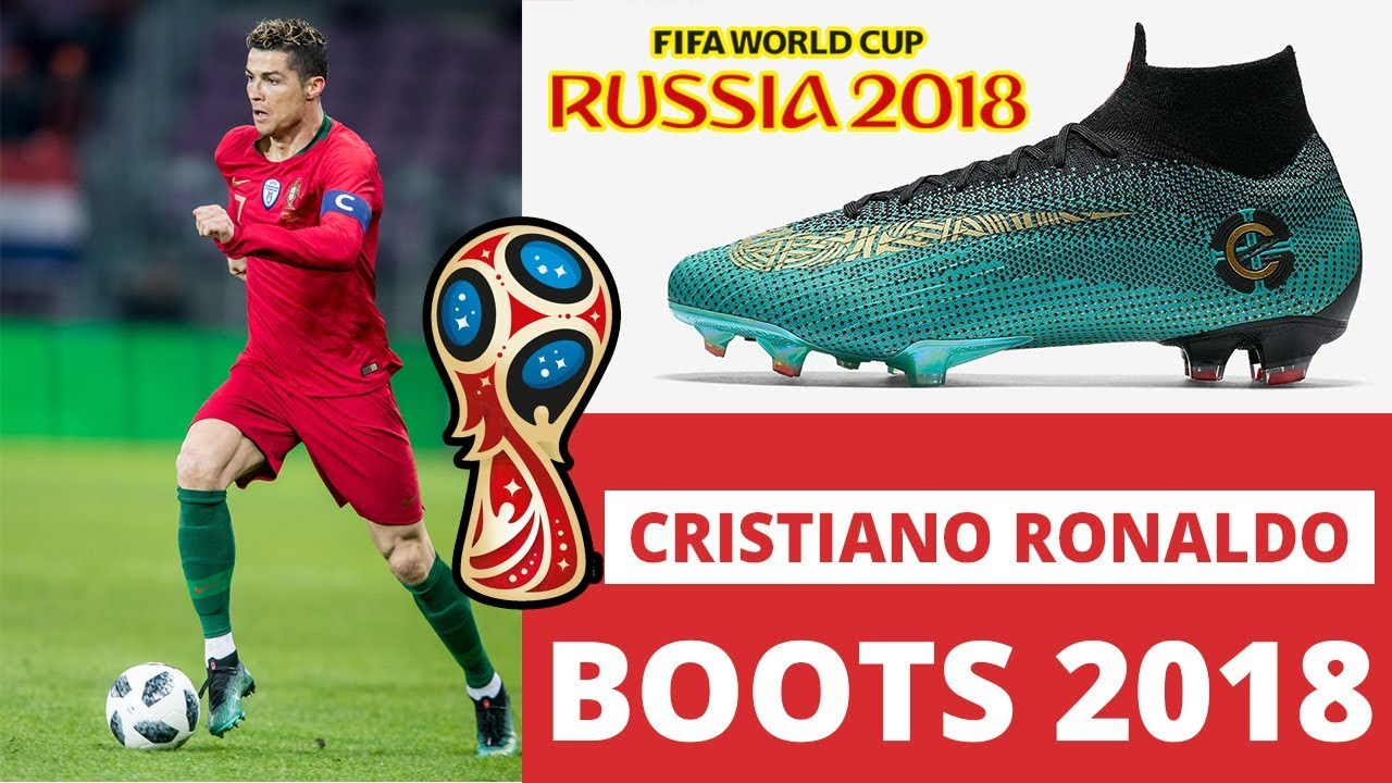 72a71c76f87906 Cristiano Ronaldo Shoes For Russia Fifa world Cup 2018 | New Nike CR7  Mercurial boots