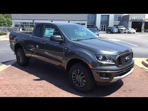 2019 Ford Ranger XLT - Supercab - Magnetic Metallic - Sport Appearance Package