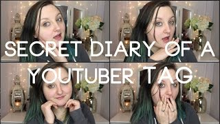 YOUTUBER GIRL CRUSH?! | Secret Diary of a YouTuber TAG | RawBeautyKristi