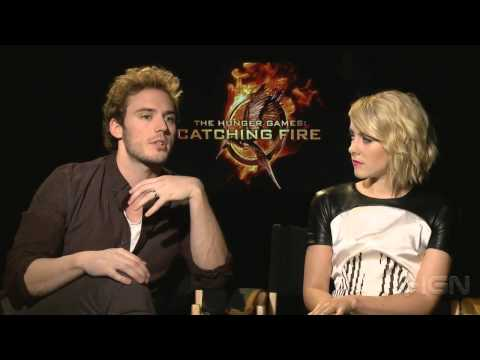 The Hunger Games: Catching Fire - Sam Claflin and Jena Malone Interview