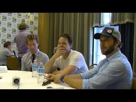San Diego ComicCon 2013  Taran Killam, Ike Barinholtz and Josh Meyers