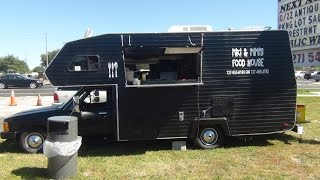 Toyota Motorhome Converted To Food Truck