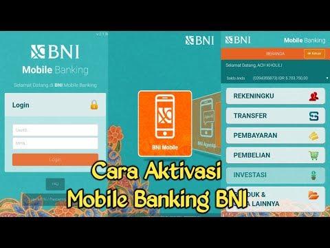 Cara daftar mobile banking bni lewat atm bni cukup mudah dan cepat, teman-teman langsung bisa mempra.