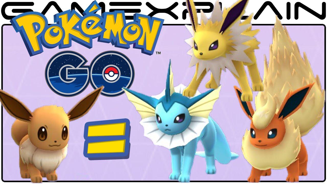 Pokemon Go Tips Choosing Your Eevee Evolution Trick