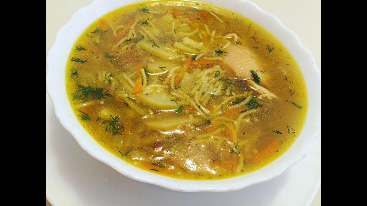 Kənd toyuğundan dadlı, faydalı, bulyonlu şorba resepti. Bol vitaminli tavuk çorbası tarifi.