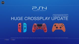 HUGE PS4 XBOX ONE CrossPlatform Update - (A new game added to the list !) (Early September 2019) / Видео