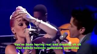 P!nk Feat Nate Ruess   Just Give Me A Reason Sub English Spanish
