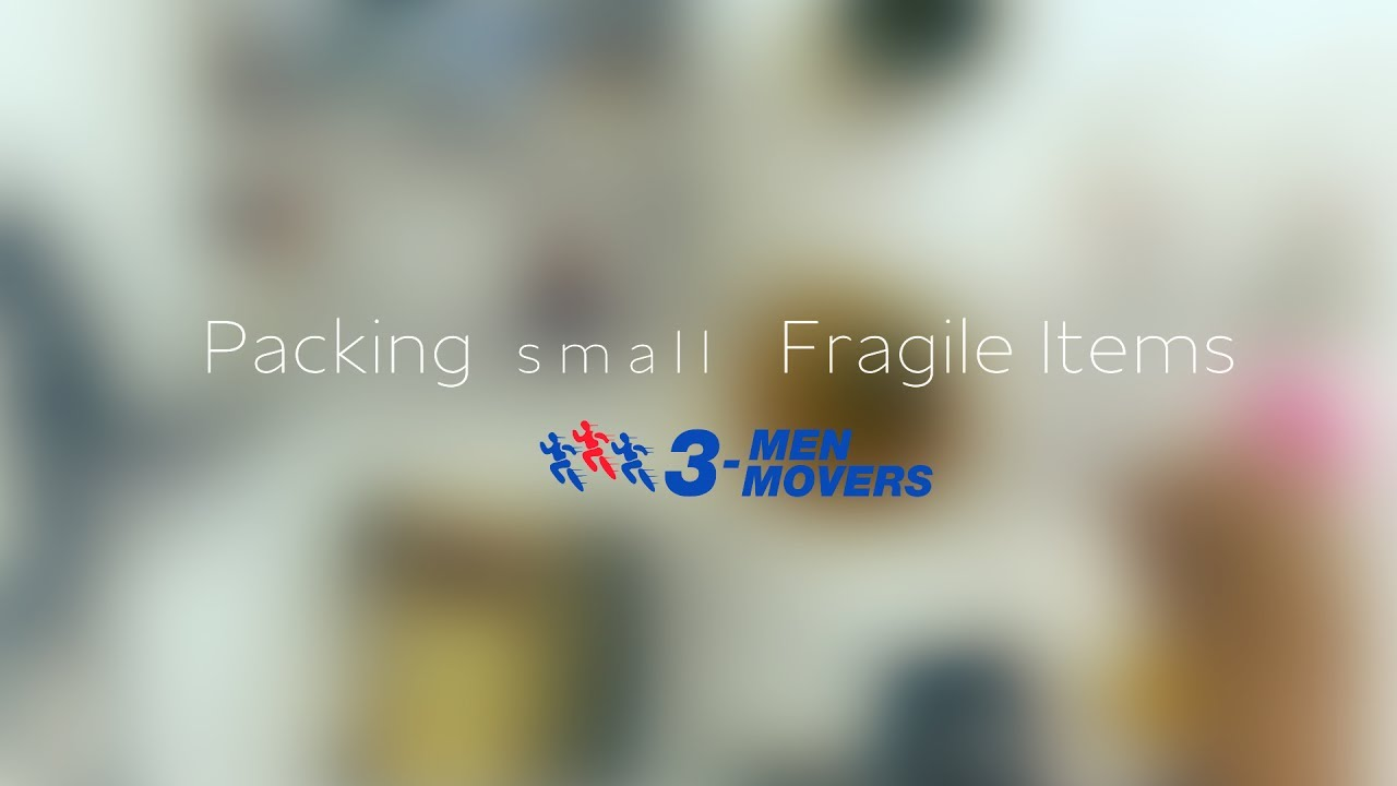 how to pack fragile items for moving packing tips for moving 3