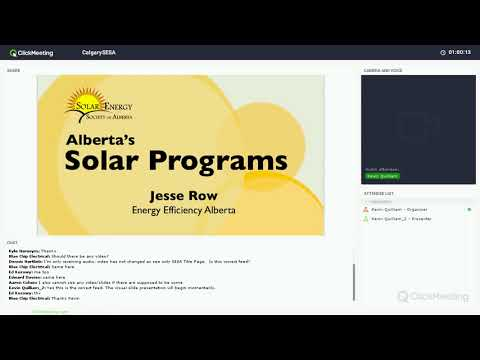 Alberta's Solar Programs