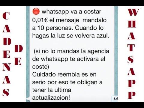 Cadenas De Whatsapp / Sketch / Vagabundos Enterprise - YouTube
