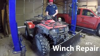 Winch Diagnosis and Repair on a Four Wheeler/ATV/Quad