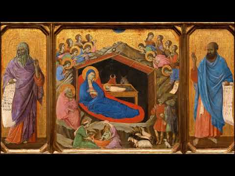 Four gregorian introits for the Advent