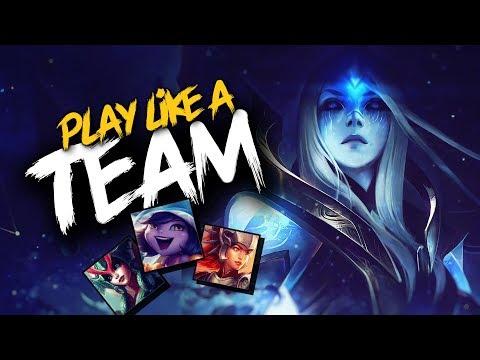 BEST TEAMWORK MOMENTS | League of Legends thumbnail