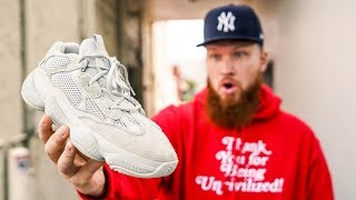 hOW GOOD IS THE ADIDAS YEEZY 500 SALT?! (In Hand Review)