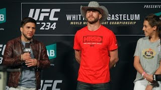 UFC 234 Fan Q&A: Donald Cerrone Predicts Second-Round Head Kick KO of Conor McGregor