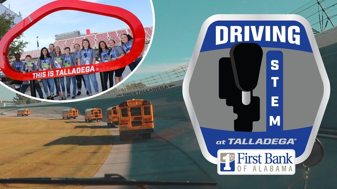 🏁 Driving STEM at Talladega Superspeedway | Presented by First Bank of Alabama