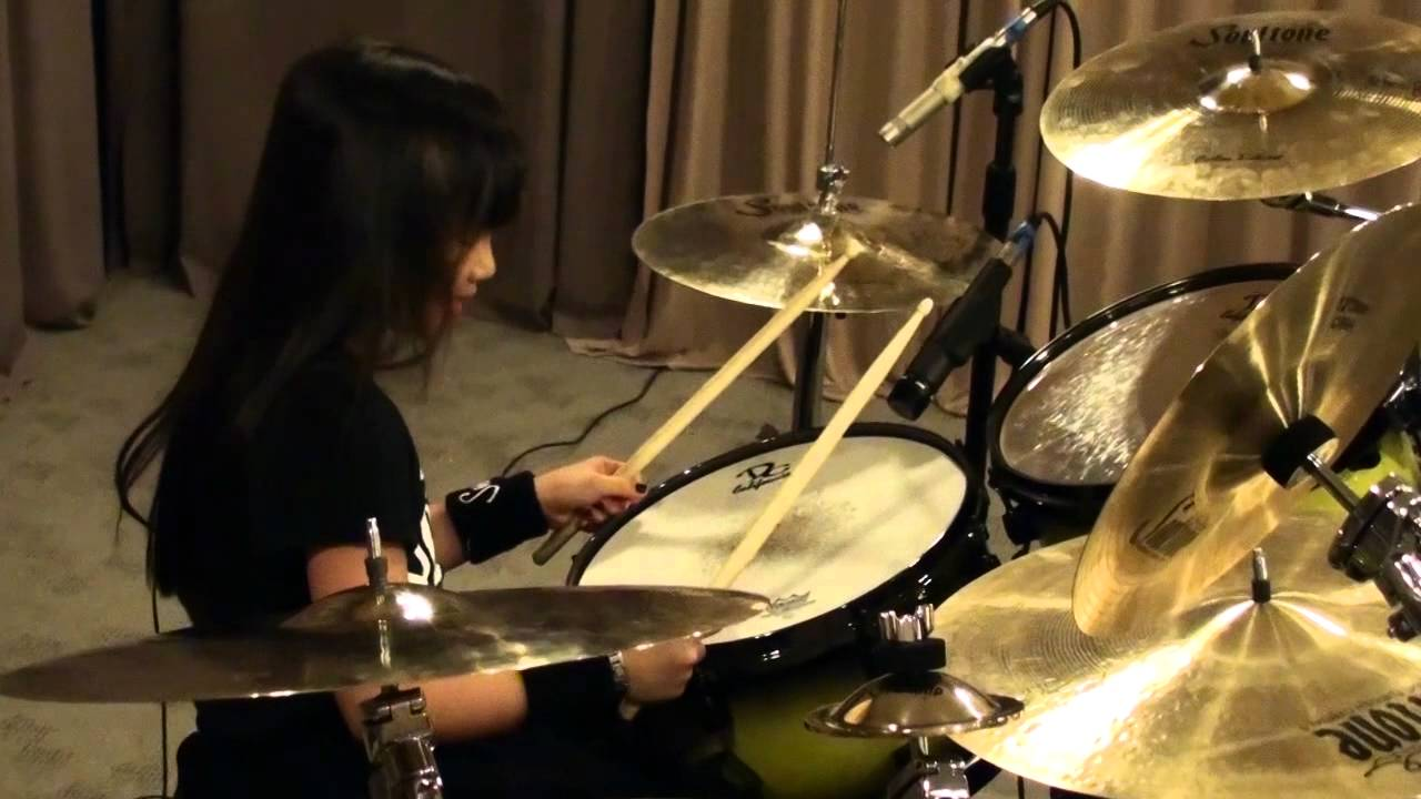 Girls Working Out Wallpaper Rush Yyz Drum Cover By Alexey Poblete Youtube