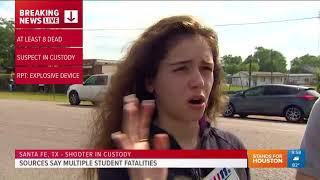 Student: Teacher pulled fire alarm to alert rest of school