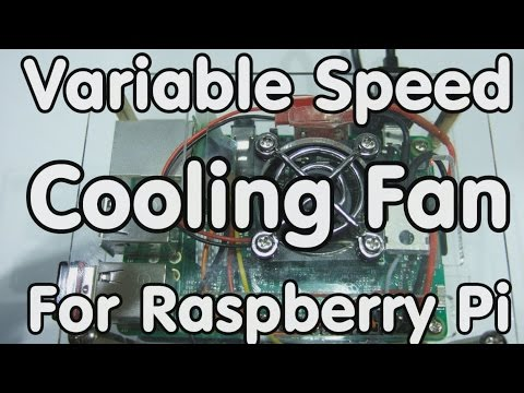 138 Variable Speed Cooling Fan for Raspberry Pi using PWM and PID